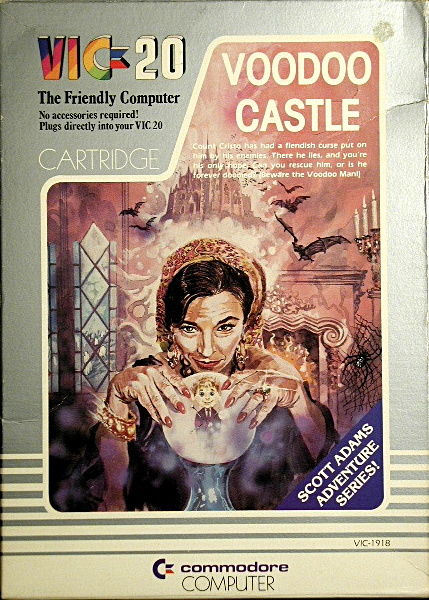 Voodoo Castle VIC-20 Front Cover