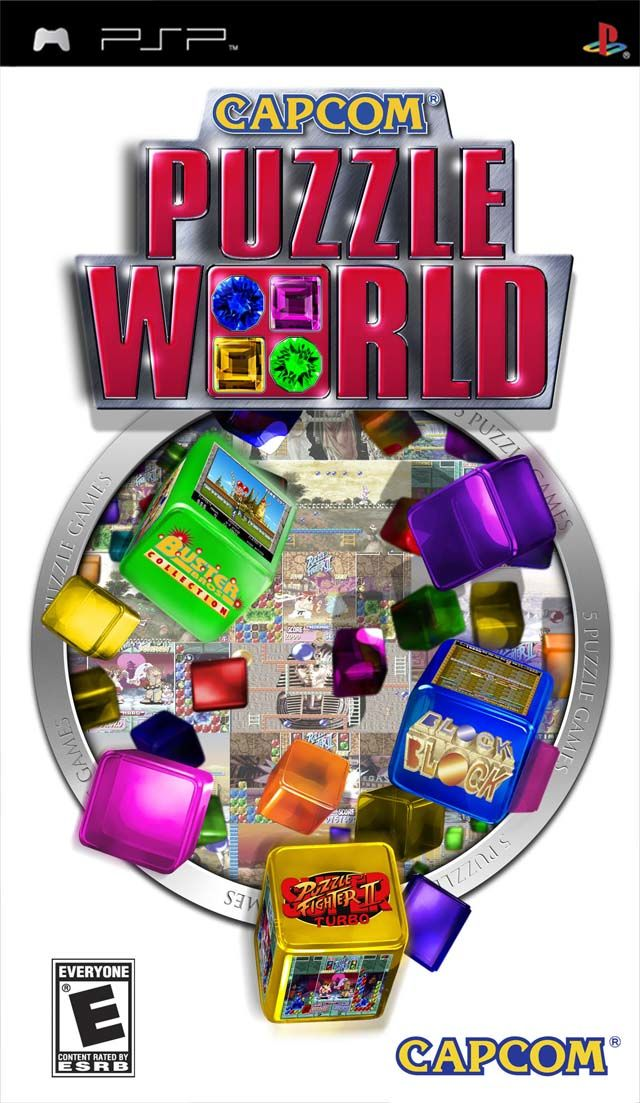 Capcom Puzzle World for PSP (2007) - MobyGames