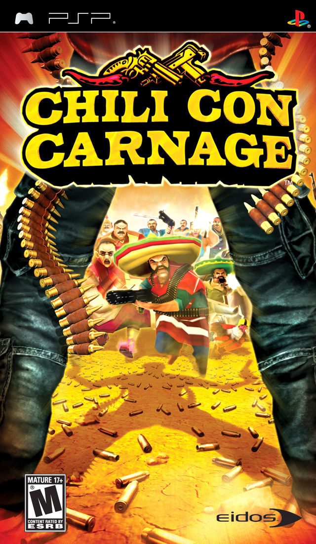 Chili Con Carnage PSP Front Cover