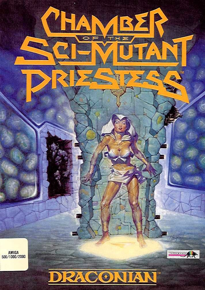 Chamber of the Sci-Mutant Priestess Amiga Front Cover