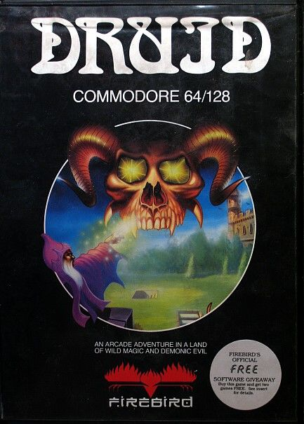 Druid Commodore 64 Front Cover