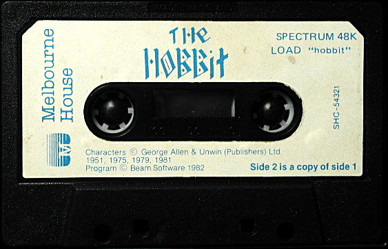 The Hobbit ZX Spectrum Media