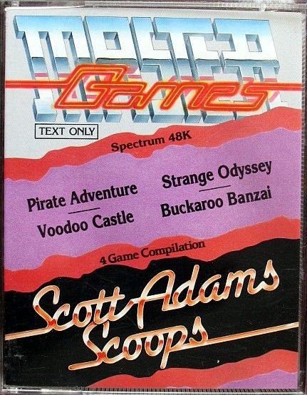 Scott Adams Scoops ZX Spectrum Front Cover