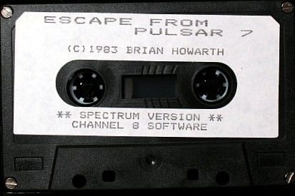 Escape from Pulsar 7 ZX Spectrum Media