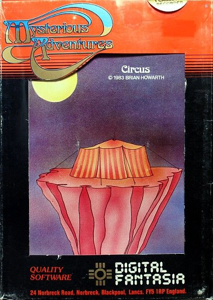 Circus ZX Spectrum Front Cover