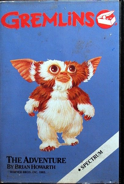 Gremlins: The Adventure ZX Spectrum Front Cover
