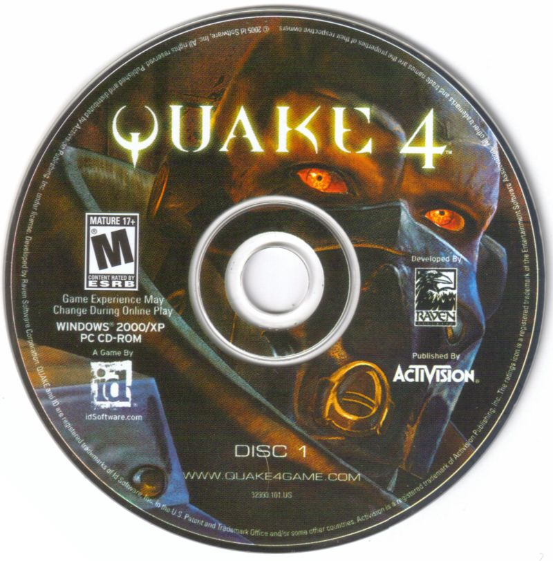 Quake 4 Windows Media Disc 1