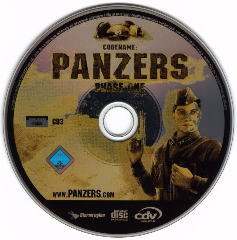 Codename: Panzers - Limited Edition Windows Media Phase One Disc 3
