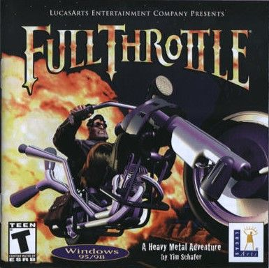Full Throttle DOS Front Cover