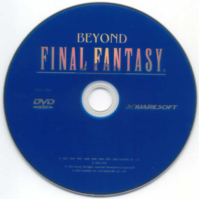 Final Fantasy X PlayStation 2 Media Bonus DVD