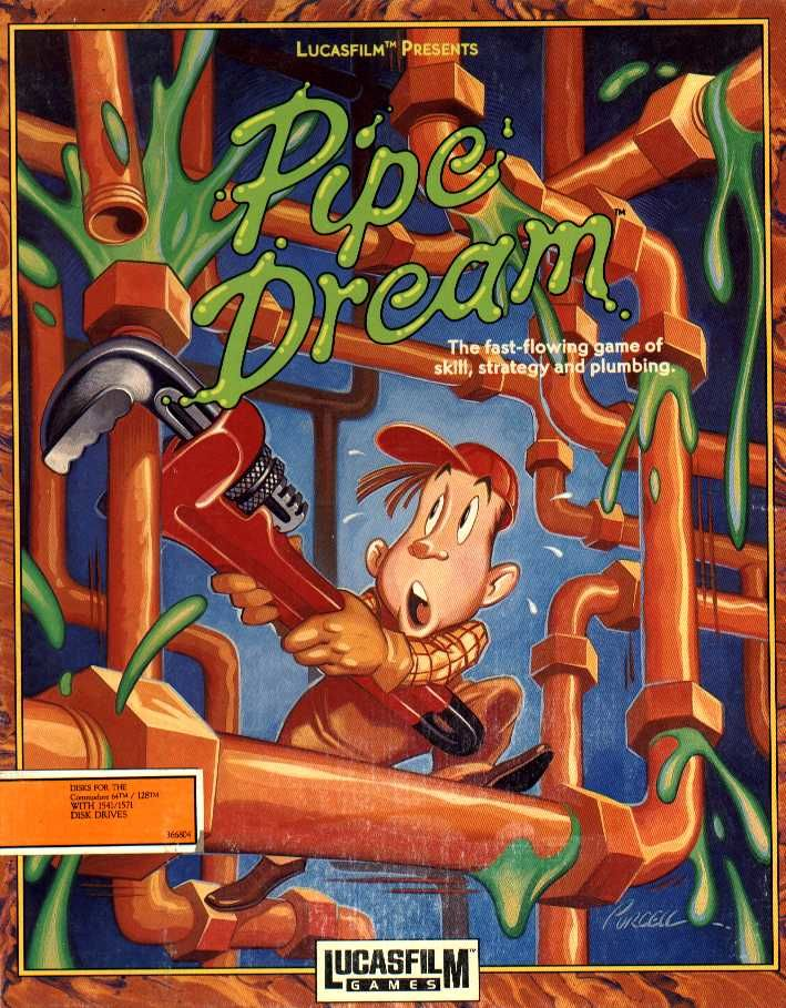 Pipe Dream Commodore 64 Front Cover