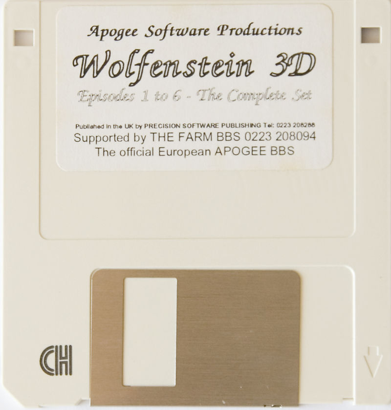 Wolfenstein 3D DOS Media