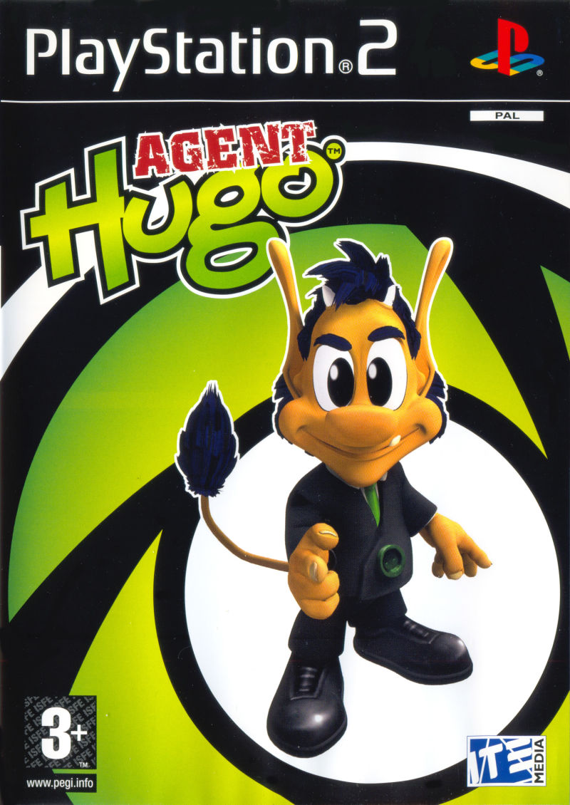 Agent Hugo PlayStation 2 Front Cover