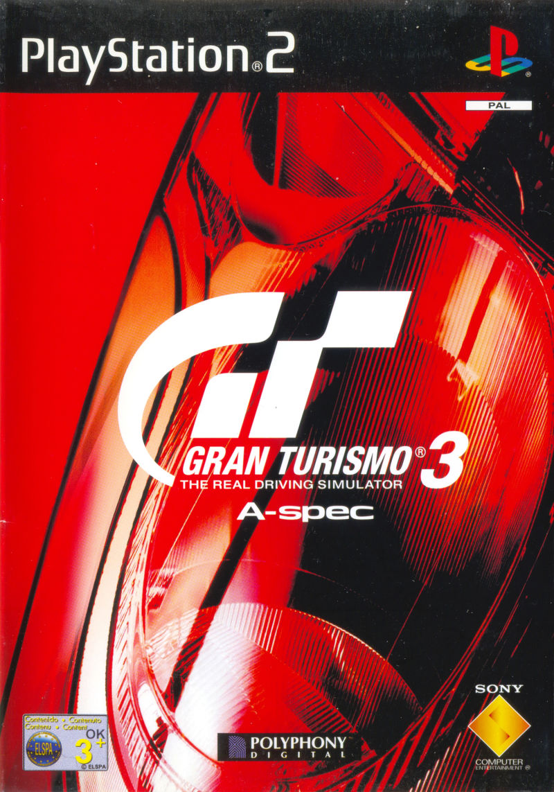 Gran Turismo 3 A Spec Playstation 2 Front Cover