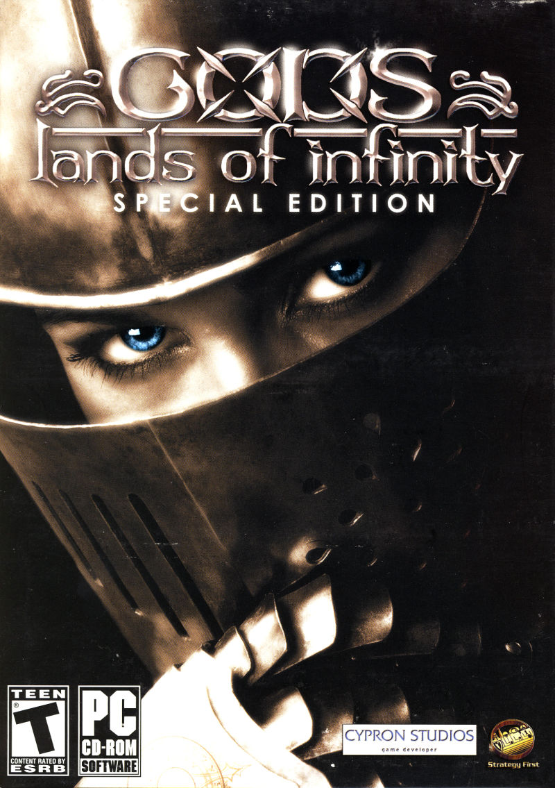 GODS: Lands of Infinity (Special Edition) Windows Front Cover