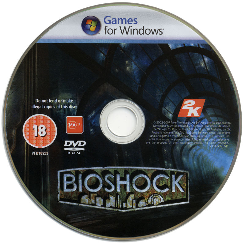 BioShock (Limited Edition) Windows Media