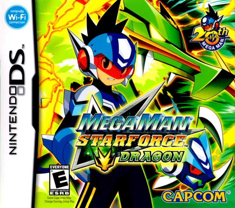 Mega Man Star Force: Dragon Nintendo DS Front Cover