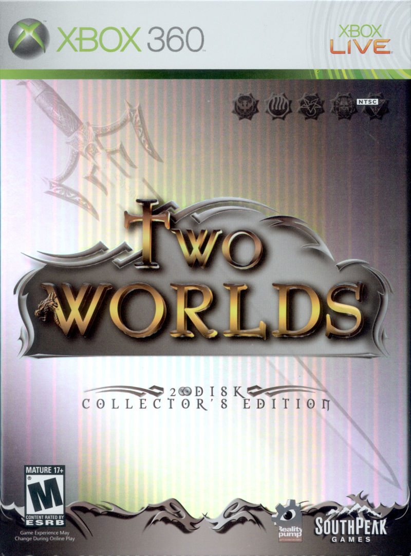 Two Worlds (Collector's Edition) Xbox 360 Front Cover
