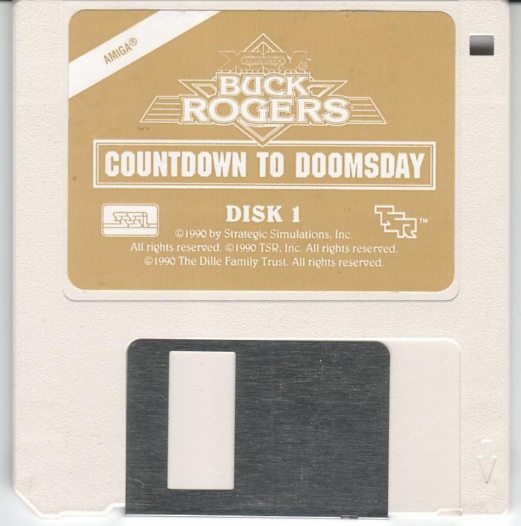 Buck Rogers: Countdown to Doomsday Amiga Media Disk 1/2