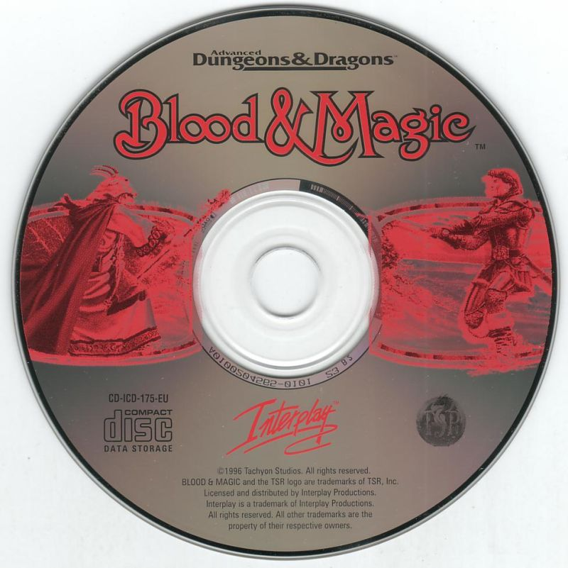 Blood & Magic DOS Media