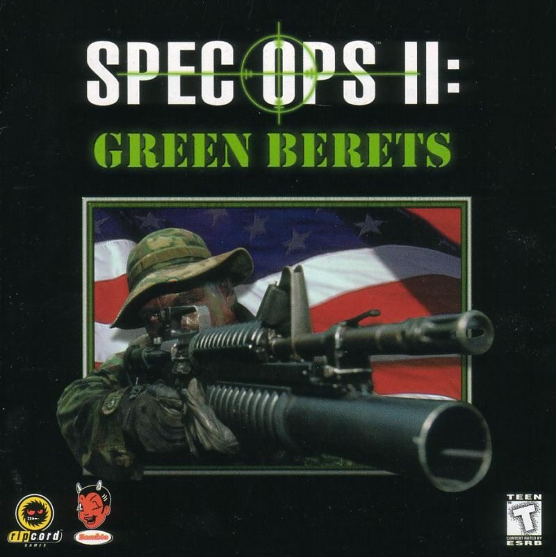Spec Ops II: Green Berets Windows Other Jewel Case - Front