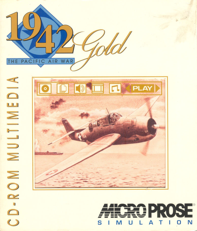 1942: The Pacific Air War Gold DOS Front Cover