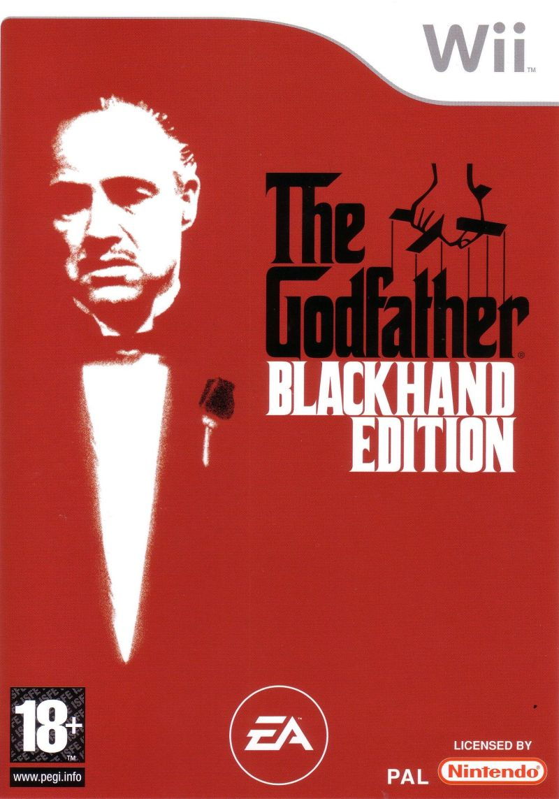 The Godfather: Blackhand Edition Wii Front Cover