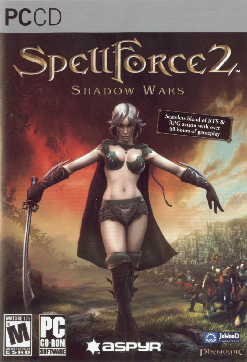 SpellForce 2: Shadow Wars Windows Front Cover