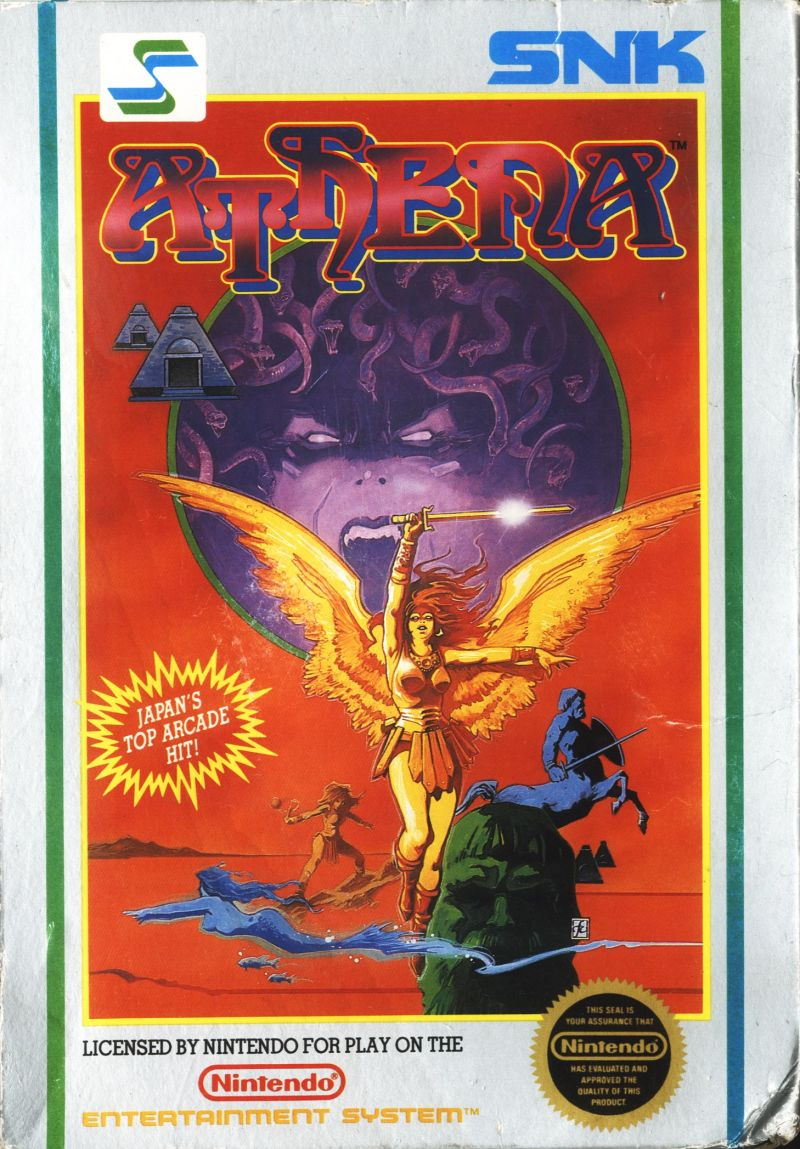 Athena NES Front Cover