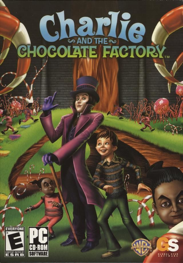 Charlie and the Chocolate Factory Windows Front Cover