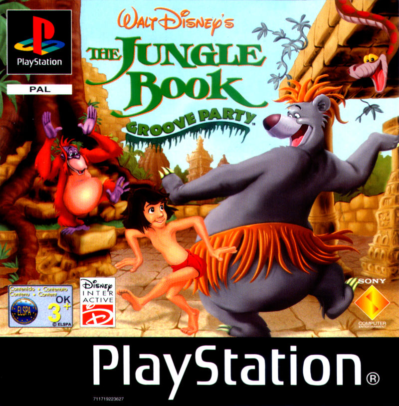Walt Disney's The Jungle Book: Rhythm n' Groove PlayStation Front Cover