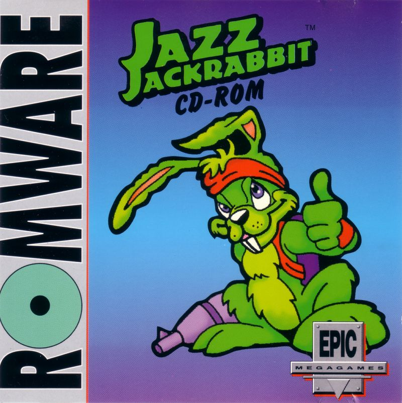 Jazz Jackrabbit CD-ROM DOS Other Jewel Case - Front