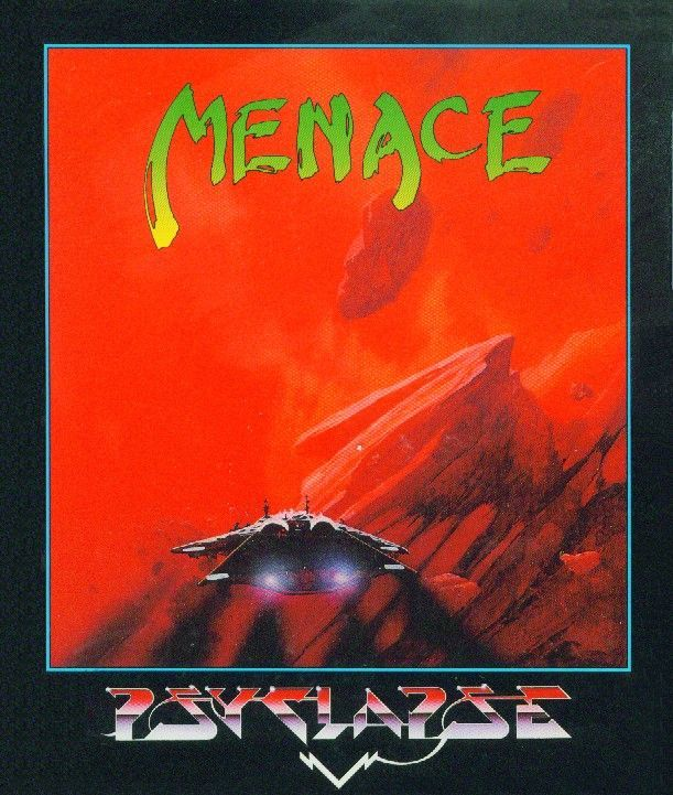 Menace Atari ST Front Cover