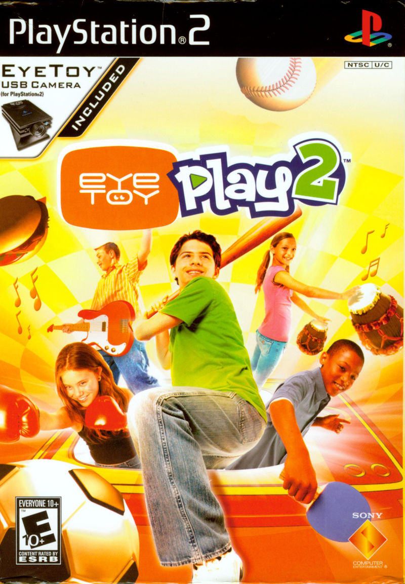 EyeToy: Play 2 PlayStation 2 Front Cover