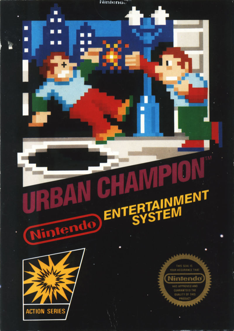 Urban Champion NES Front Cover