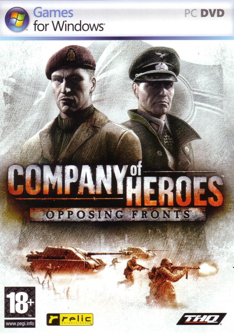 Company Of Heroes Opposing Fronts For Windows 2007 Mobygames
