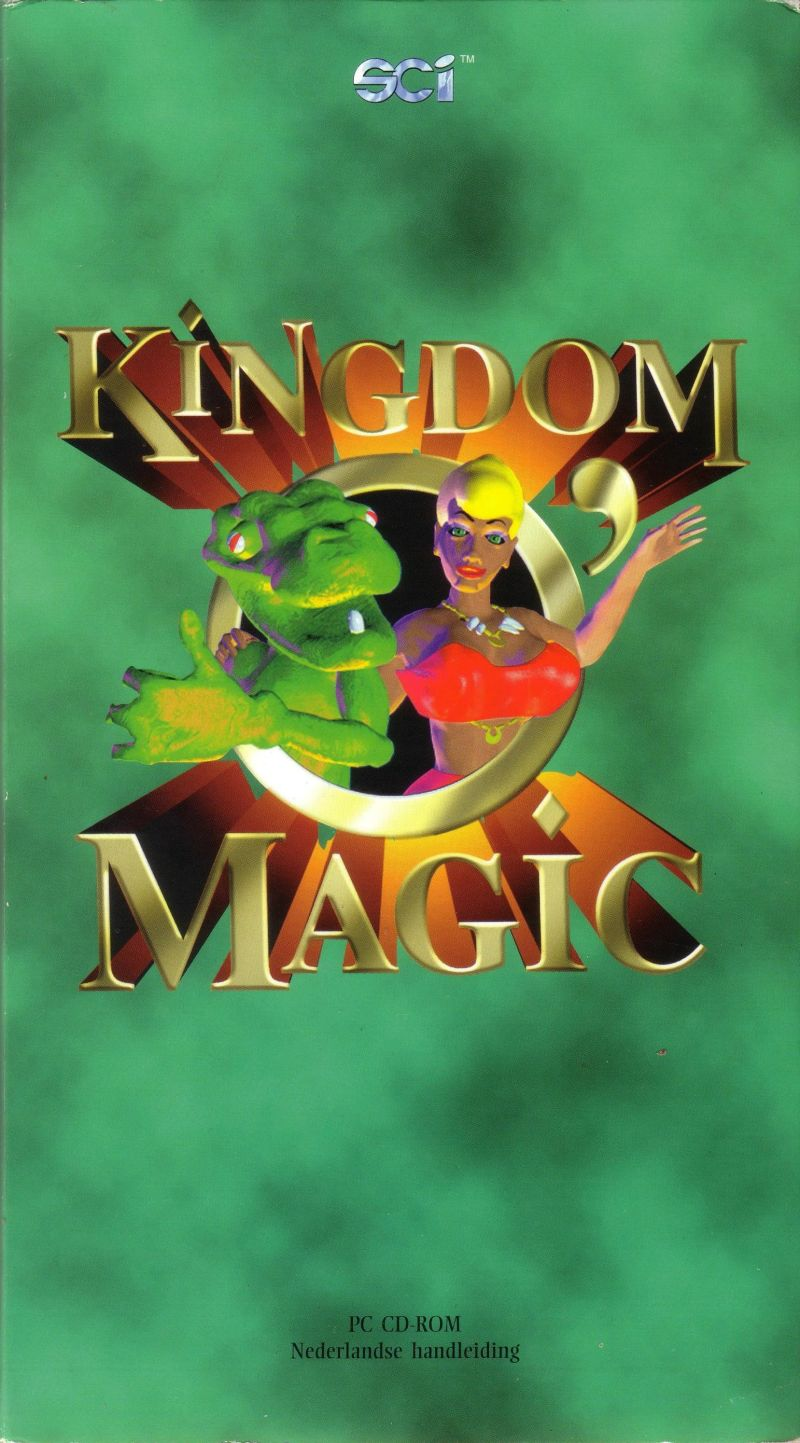 Kingdom O' Magic DOS Front Cover