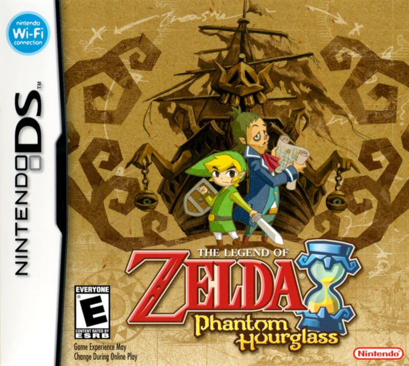 The Legend of Zelda: Phantom Hourglass Nintendo DS Front Cover