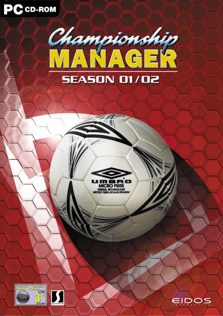 Championship Manager: Season 01/02 Windows Front Cover