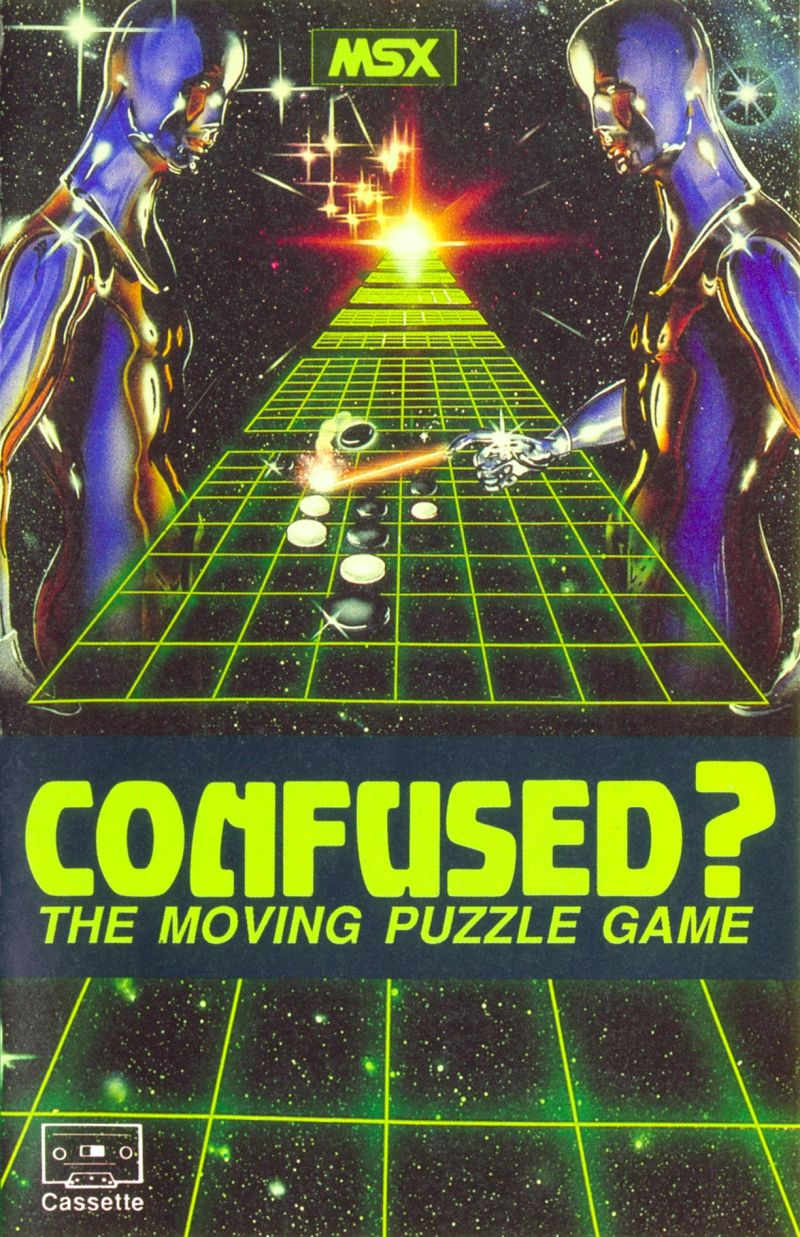 Confused? MSX Front Cover