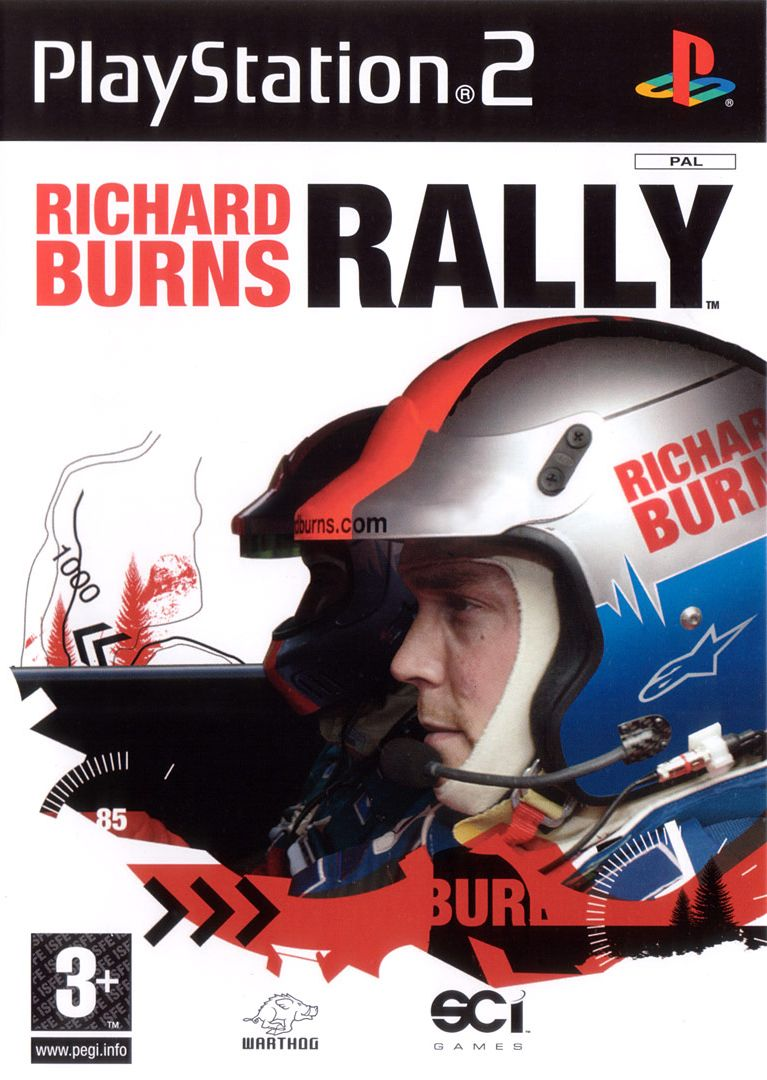 Richard Burns Rally PlayStation 2 Front Cover