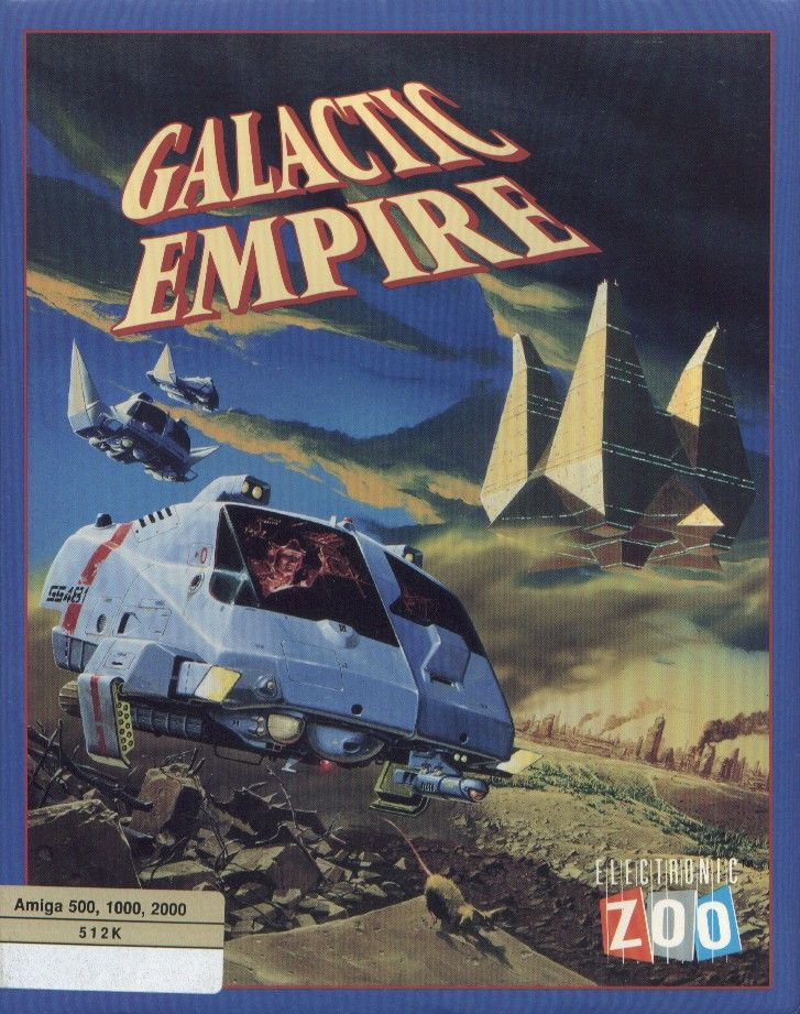Galactic Empire Amiga Front Cover