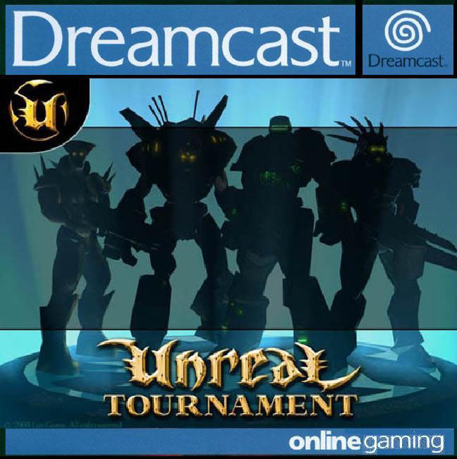 Unreal Tournament Dreamcast Front Cover