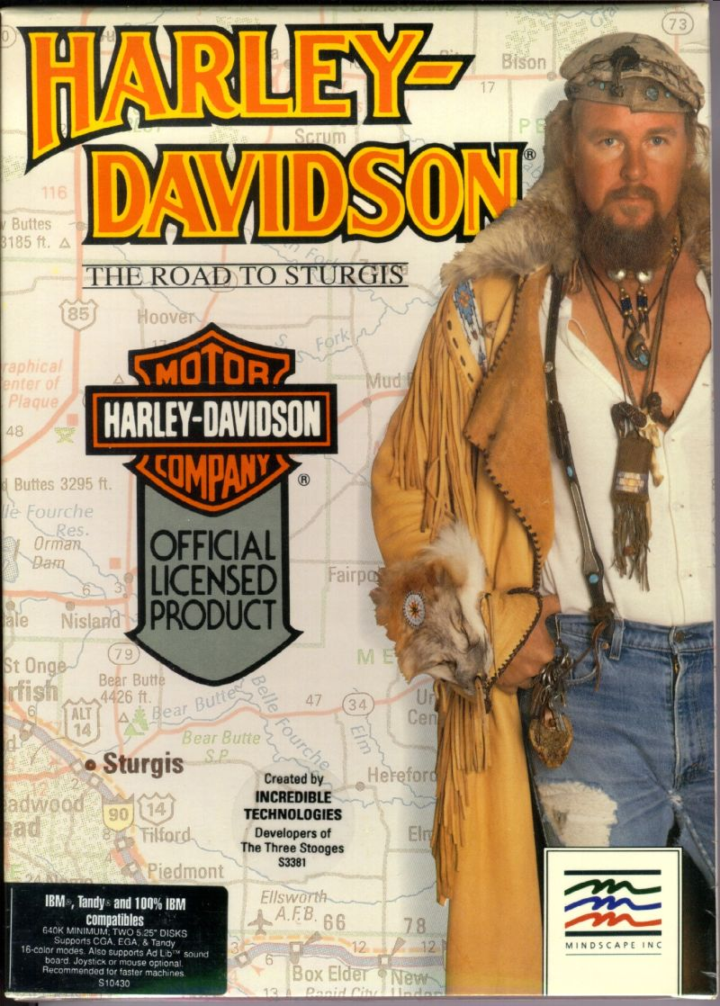Harley-Davidson: The Road to Sturgis DOS Front Cover