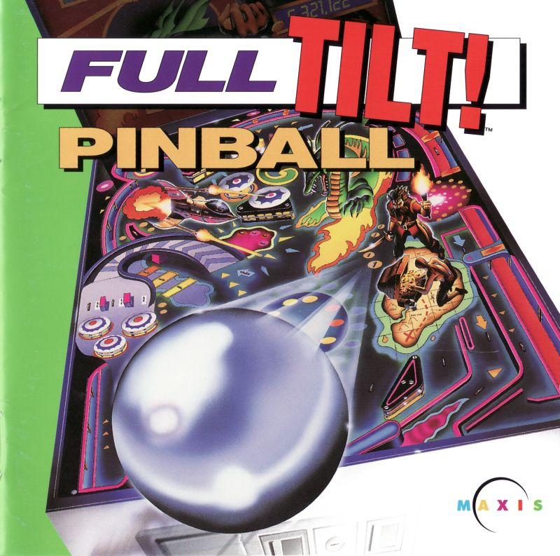 Full Tilt! Pinball Macintosh Front Cover