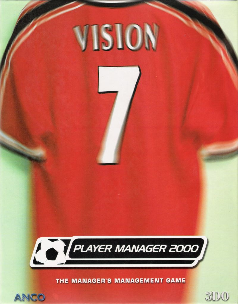 Player Manager 2000 Windows Front Cover