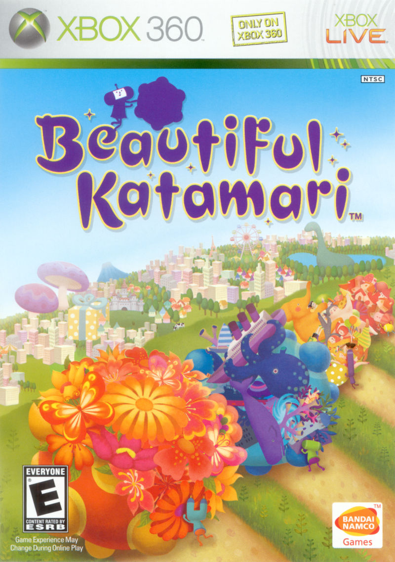 Beautiful Katamari Xbox 360 Front Cover