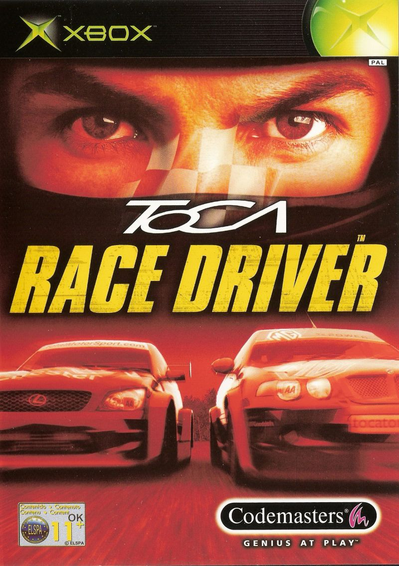 Pro Race Driver Xbox Front Cover