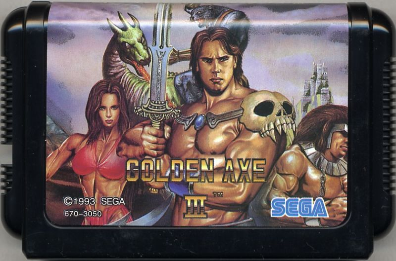 Golden Axe III Genesis Media