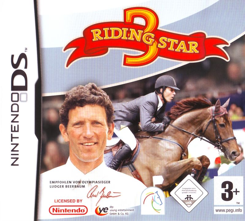 Riding Star 3  Nintendo DS Front Cover